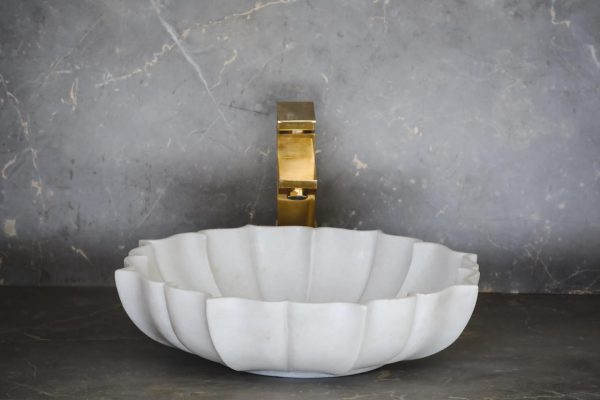 Lily Pond - Designer Natural Stone Sink