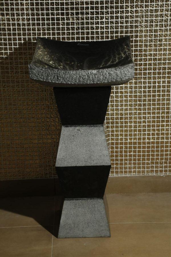 Zig Zag Triton - Pedestal Wash Basin
